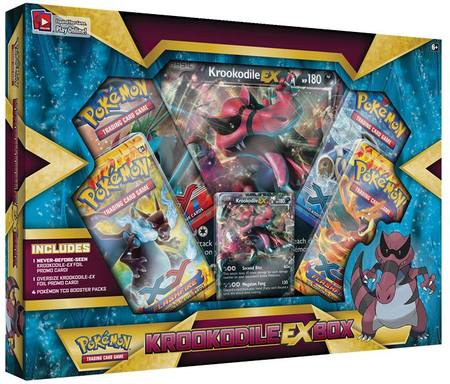 Pokemon Krookodile EX Box