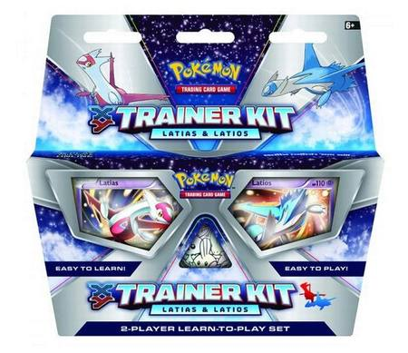 Pokemon XY Latias and Latios 2-Player Learn-To-Play Set