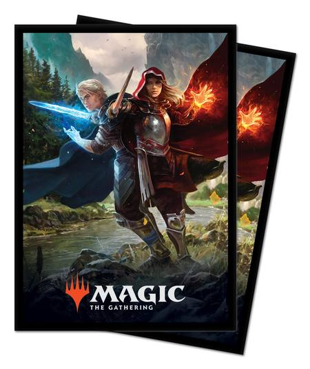 Ultra Pro Magic Throne of Eldraine (100CT) Sleeves - Royal Scions