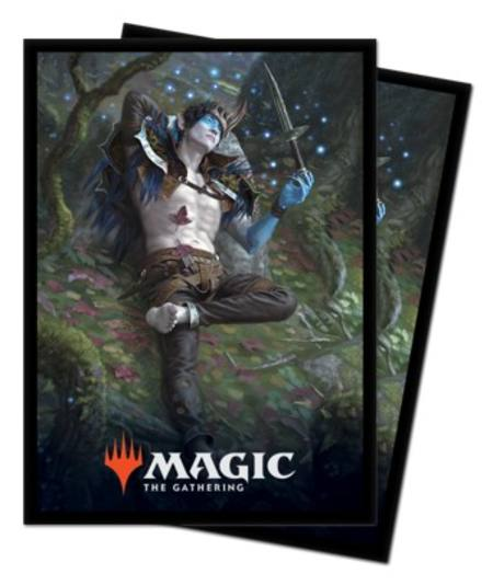 Ultra Pro Magic Throne of Eldraine (100CT) Sleeves - Oko, Thief of Crowns