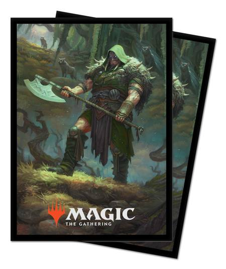 Ultra Pro Magic Throne of Eldraine (100CT) Sleeves - Garruk, Cursed Huntsman