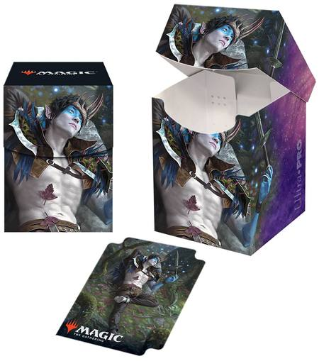 Ultra Pro Magic Throne of Eldraine 100+ Deck Box - Oko, Thief of Crowns