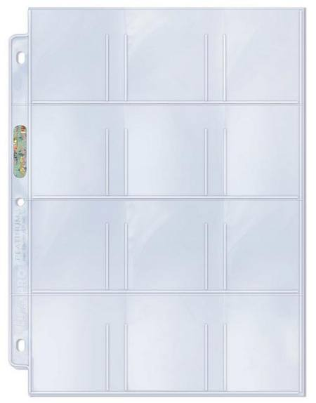 Ultra Pro 12 Pocket Pages 10 Loose Pages