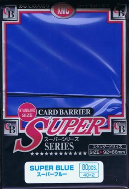 KMC Super Blue (80CT) Large Magic Size Sleeves
