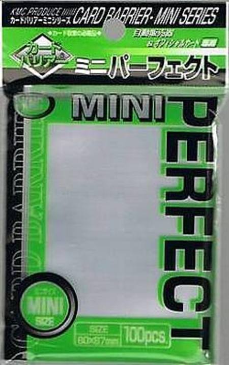KMC Perfect Size Clear (100CT) YuGiOh Size Sleeves