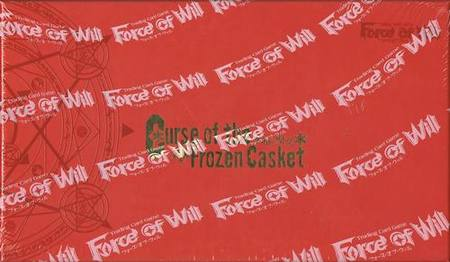 Force of Will Curse of the Frozen Casket (36CT) Booster Box