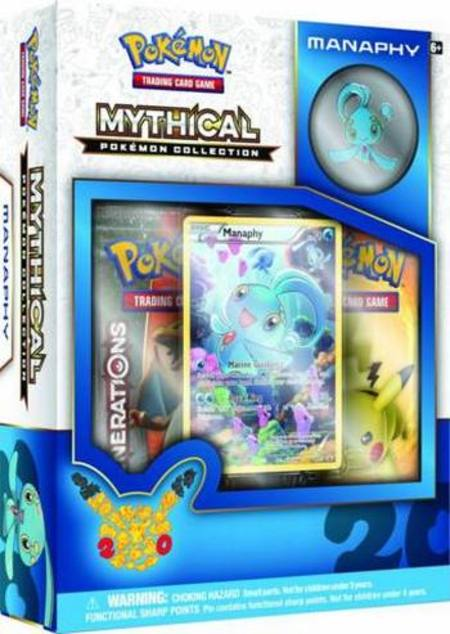 Pokemon Mythical Manaphy Collection Box