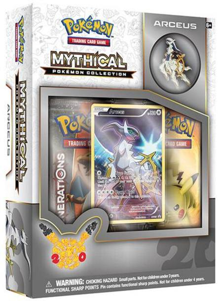Pokemon Mythical Arceus Collection Box