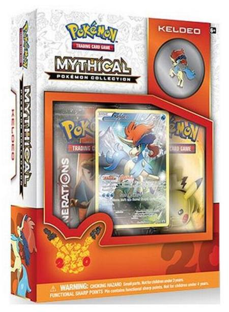 Pokemon Mythical Keldeo Collection Box