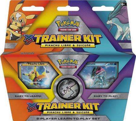 Pokemon Pikachu Libre and Suicune 2-Player Trainer