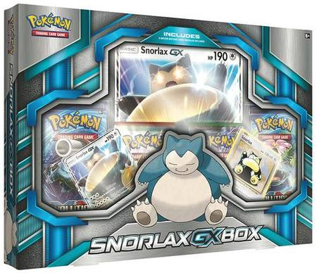 Pokemon Snorlax GX Box
