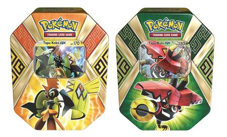 Pokemon Island Guardians 2 Tin Set