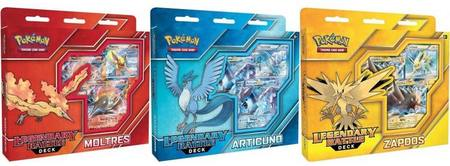 Pokemon Legendary Battle Deck Set