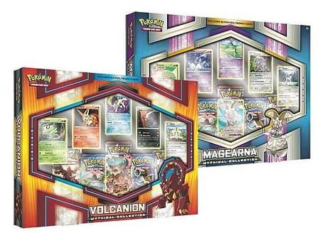 Pokemon Volcanion/Magearna Mythical Collection 2 Box Mix