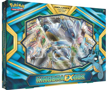 Pokemon Kingdra-EX Box