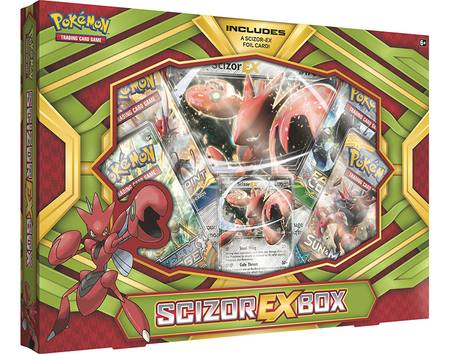Pokemon Scizor-EX Box
