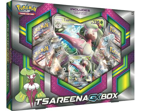 Pokemon Tsareena GX Box