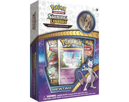 Pokemon Shining Legends Pin Collection Mewtwo Box