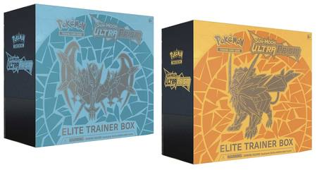 Pokemon Sun and Moon Ultra Prism Elite Trainer (2) Box Mix