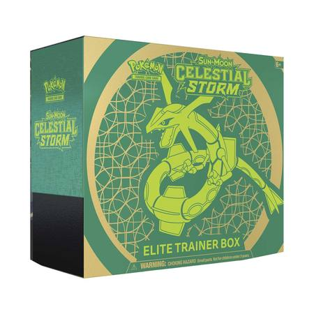 Pokemon Sun and Moon Celestial Storm Elite Trainer Box