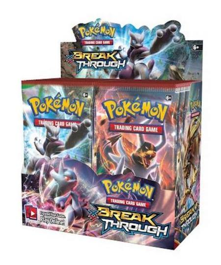 Pokemon XY Break Through (36CT) Booster Box