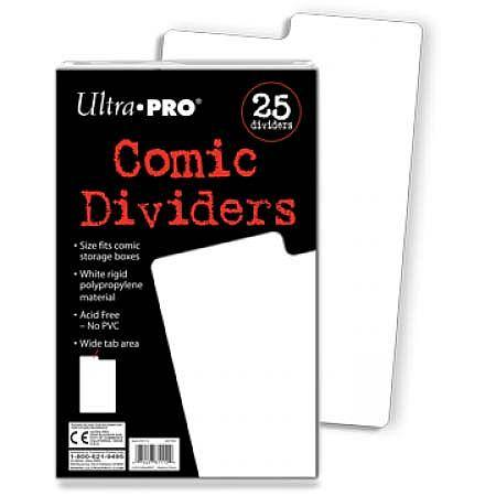 Ultra Pro Comic Dividers (25CT) Pack