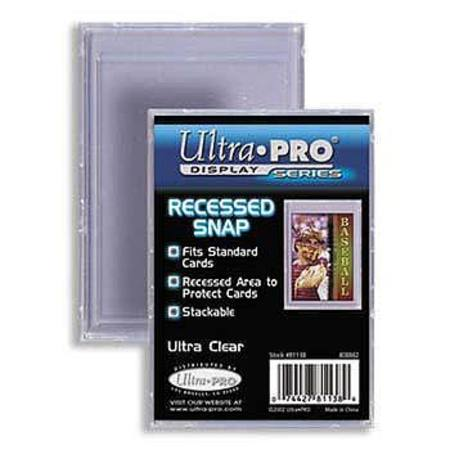 Ultra Pro 25pt Recessed Snap Tight Card Holder