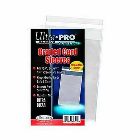 Ultra Pro Graded Card Sleeves Resealable (100CT) Bag