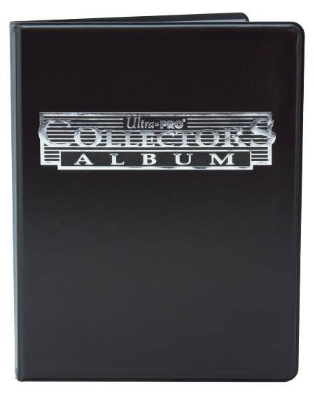 Ultra Pro 9 Pocket Collectors Portfolio - Black