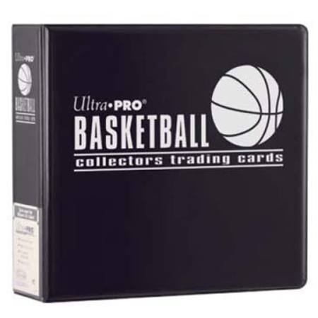 Ultra Pro 3 inch Black Basketball Album