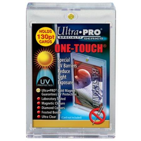 Ultra Pro 130pt. UV One Touch Single Card Holder