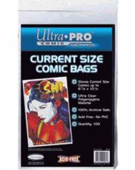 Ultra Pro Current Size Comic Bags