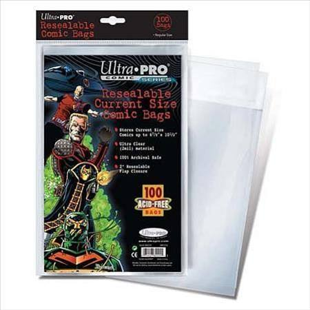 Ultra Pro Current Size Resealable Comic Bags