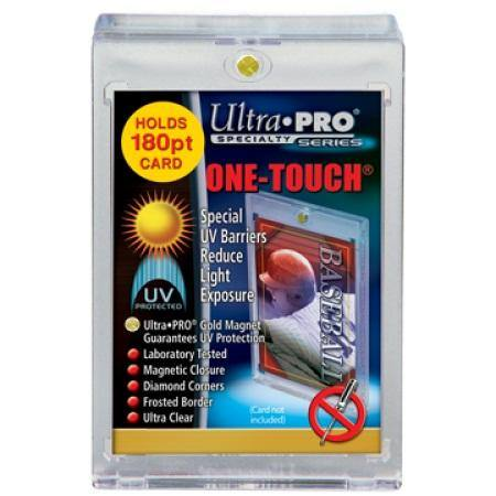 Ultra Pro 180pt. UV One Touch Single Card Holder