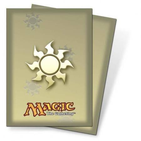 Ultra Pro Magic Deck Protectors - Mana White Art Pic