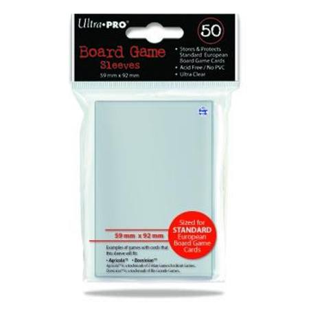 Ultra Pro 59mm X 92mm Standard European Board Game Sleeves (50CT)
