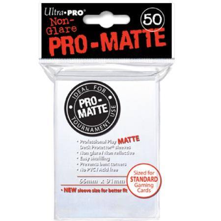Ultra Pro Pro-Matte White (50CT) Regular Size Sleeves