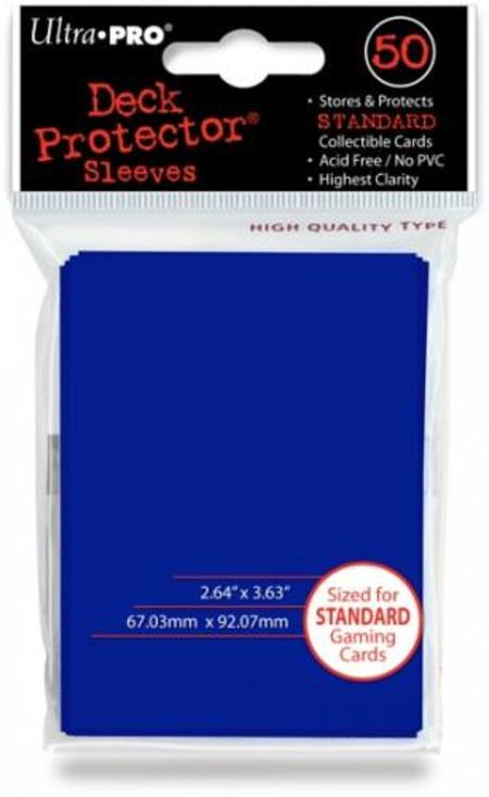 Ultra Pro Tsunami Blue Deck Protectors (50CT) Regular Size Sleeves