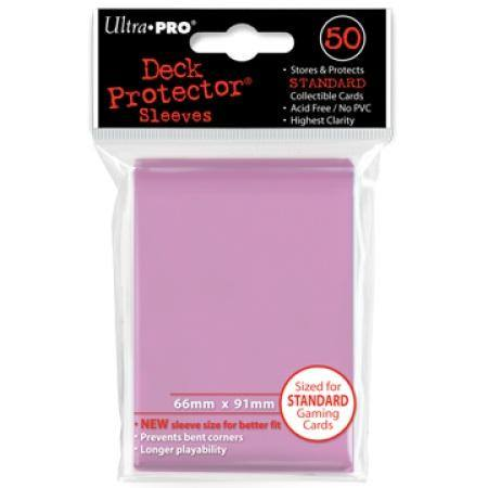 Ultra Pro Sunset Pink Deck Protectors (50CT) Regular Size Sleeves