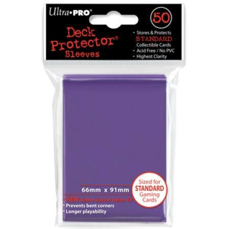 Ultra Pro Passion Purple Deck Protectors (50CT) Regular Size Sleeves