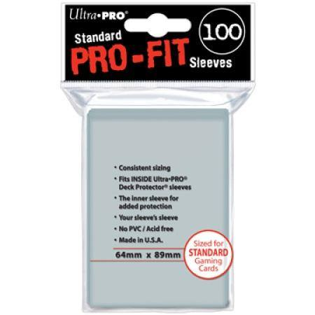 Ultra Pro Pro-Fit (100CT) Regular Size Sleeves