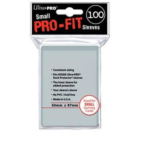 Ultra Pro Pro-Fit (100CT) SMALL Size Sleeves