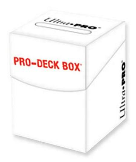 Ultra Pro - PRO-Deck Box 100+ White