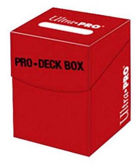 Ultra Pro - PRO-Deck Box 100+ Red