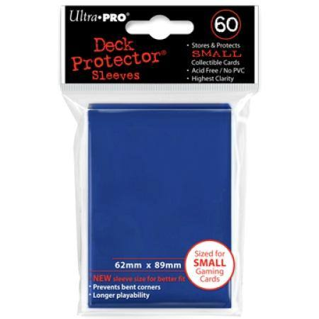 Ultra Pro Blue Deck Protectors (60CT) YuGiOh Size Sleeves