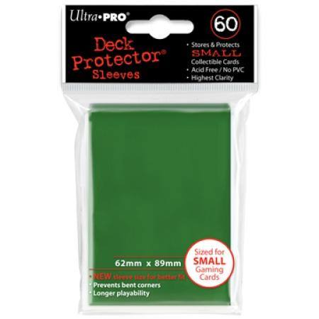 Ultra Pro Green Deck Protectors (60CT) YuGiOh Size Sleeves
