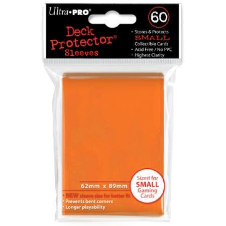 Ultra Pro Orange Deck Protectors (60CT) YuGiOh Size Sleeves