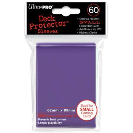 Ultra Pro Purple Deck Protectors (60CT) YuGiOh Size Sleeves
