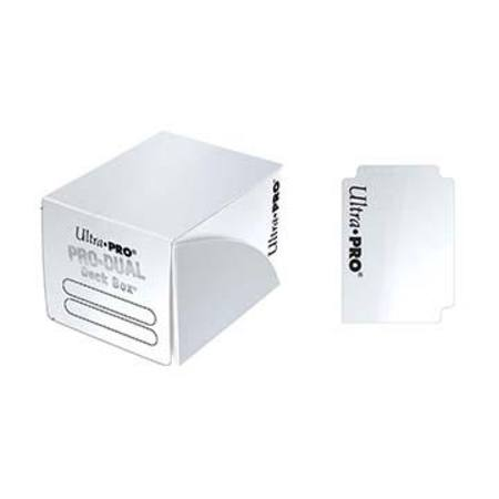 Ultra Pro Deck Box: 120CT ProDual - Small Size - White