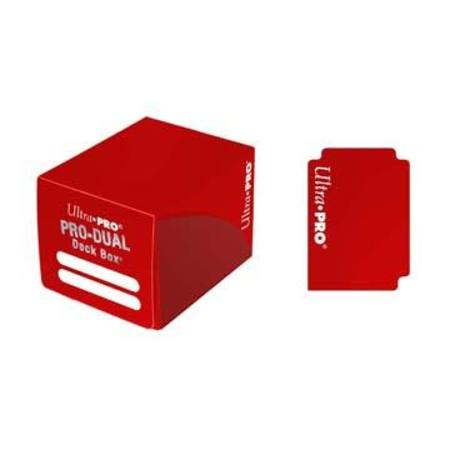 Ultra Pro Deck Box: 120CT ProDual - Small Size - Red
